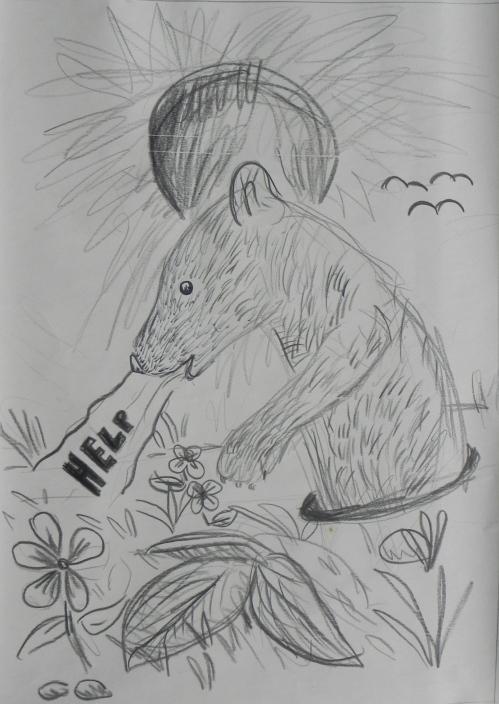 1 Mongoose In A Hole - Freya Platts Costeloe