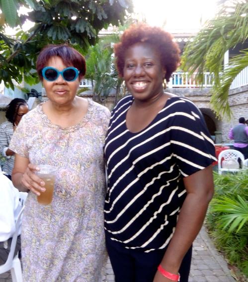 jamaicajoanne 2015 at V I Lit Fest