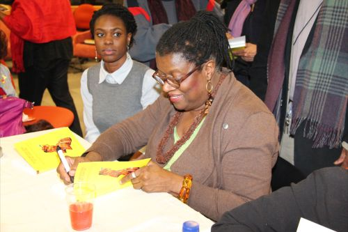 Althea Prince signing copies