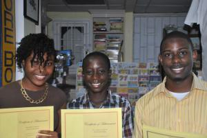 The top three writers overall in 2013 hailed from three distinct age categories 12 and younger, 13 to 17, and 18 to 35.