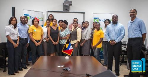 Workshop facilitators, sponsors and participants  @ GATE (Photo from https://www.facebook.com/AntiguaBarbudaGovt)