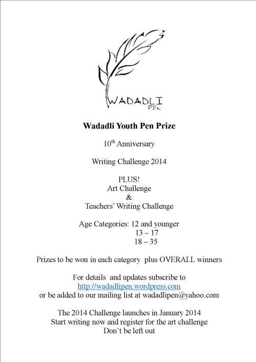 2014 Wadadli Pen flyer