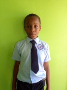 Messiah, 10, from Minoah Magnet.