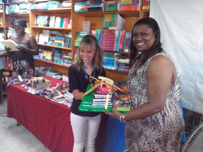 A finalist in 2012 and 2013, Vega Armstrong was the best writer in the 12 and younger category in 2014. She collects from D. Gisele Isaac.