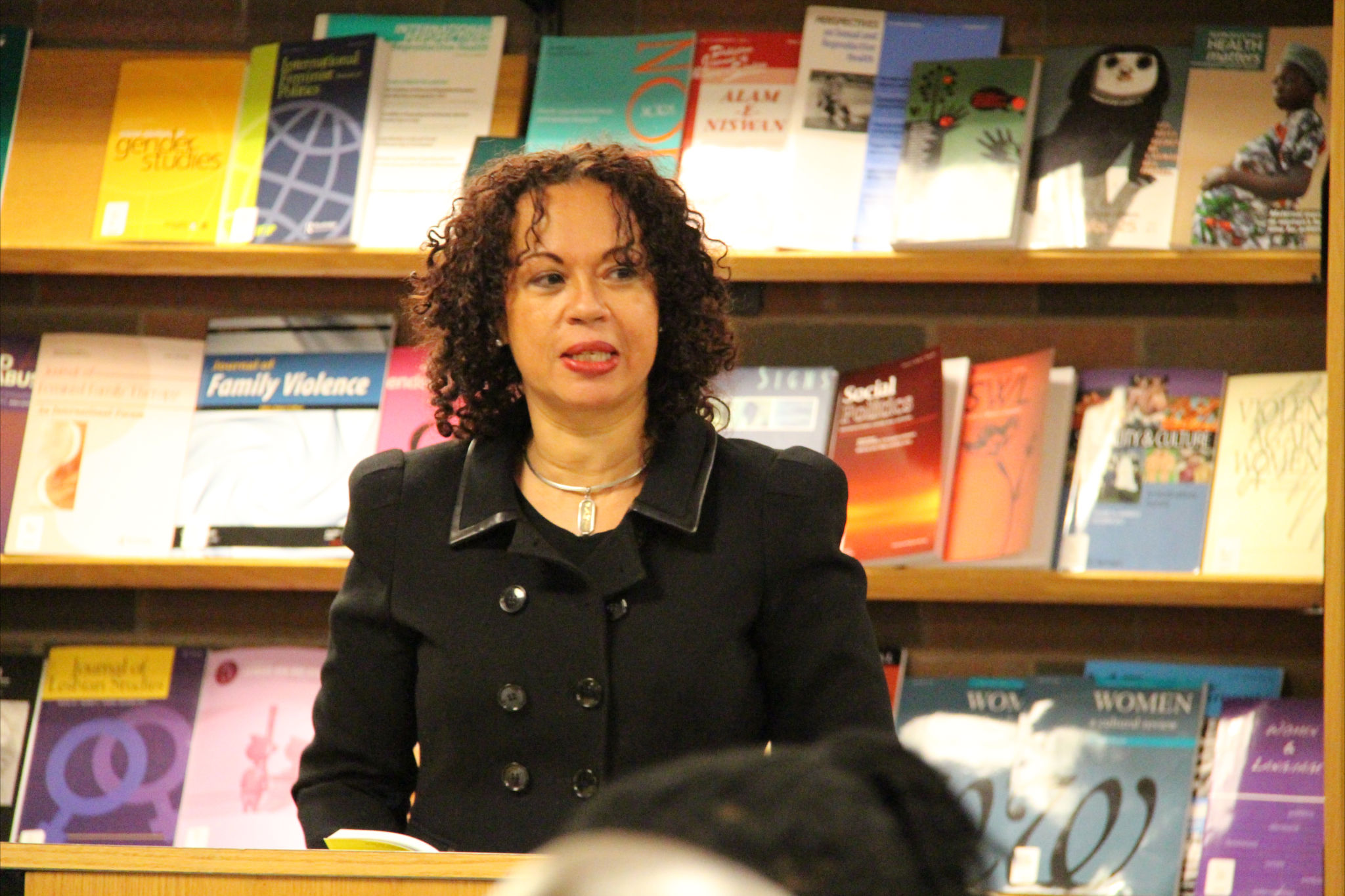 caribbean writer wadadli pen gayle reading at the launch of so the nailhead bend so the story end in