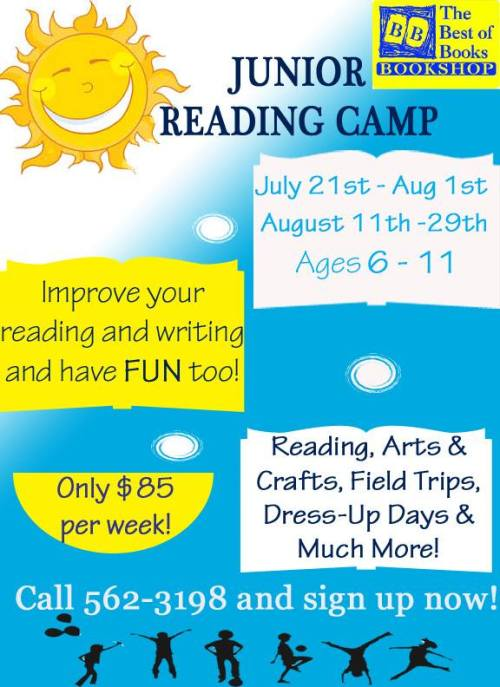 summer camp primary 2014 Best of Books