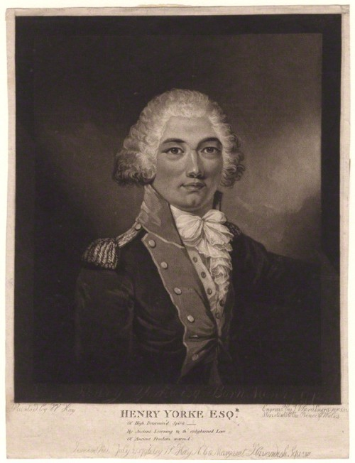 NPG D4949; Henry Redhead Yorke by James Ward, published by and after  William Hay