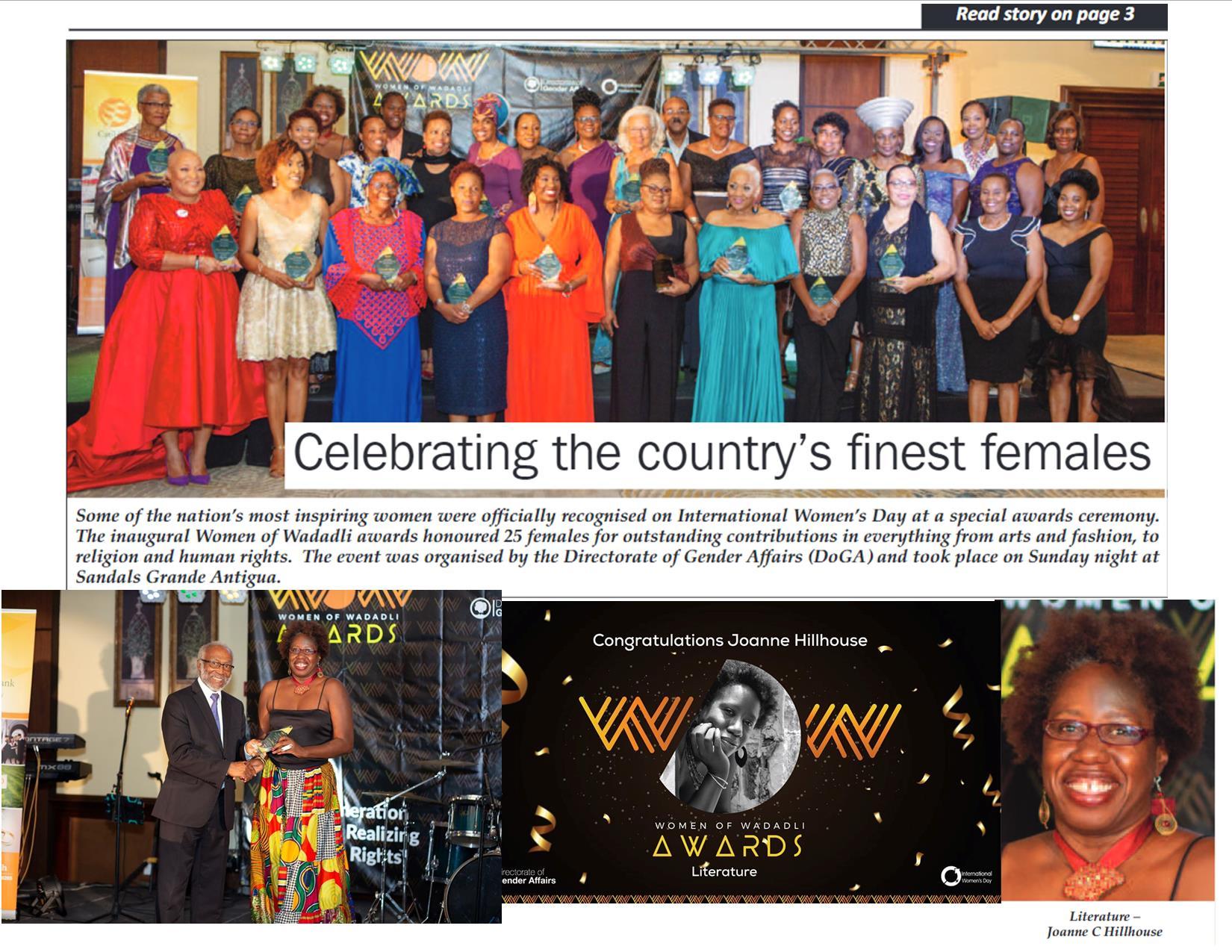 Women of Wadadli Awards March 2020