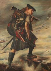 Disbanded by John Pettie.