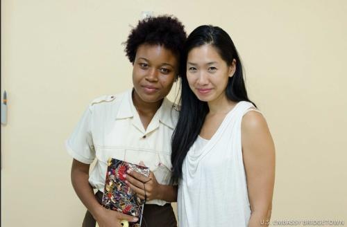 Chang with Asha