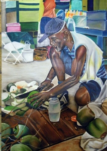 Coconut Man by Glenroy Aaron, part of the Tongues of the Ocean special Antigua and Barbuda issue for which I served as guest editor. http://tonguesoftheocean.org/