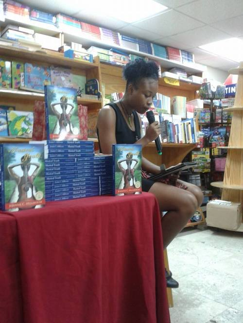 Asha Graham, who took the main prize in both 2013 and 2014, read from her most recent winning piece LaJabless (use the search feature to the right to read it if you haven't yet and would like to).