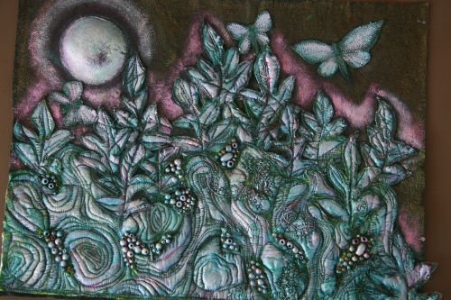 Heather Doram's Moonlight on Butterflies, currently featured in the October 2014 issue of Tongues of the Ocean - the Antigua and Barbuda edition.