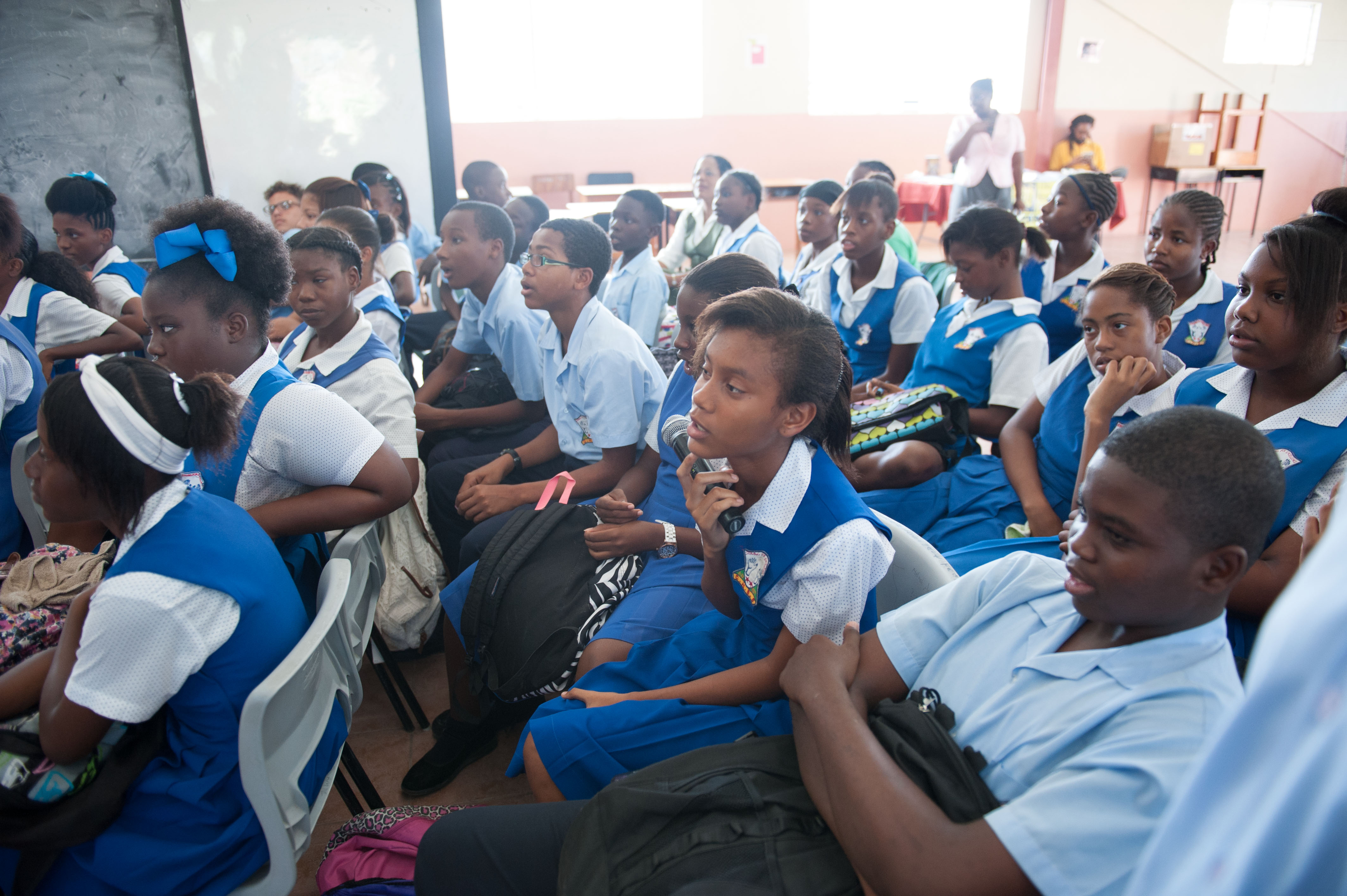 Author S Day At Clare Hall Secondary Wadadli Pen