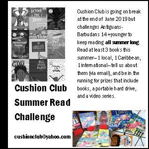 Cushion Club Summer Reading Challenge 2019