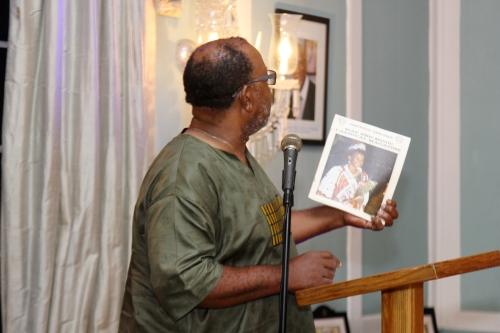 Dorbrene O'Marde read a timely Carnival story.