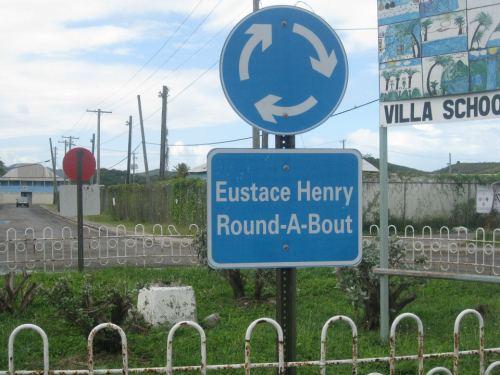 Eustace manning Henry roundabout