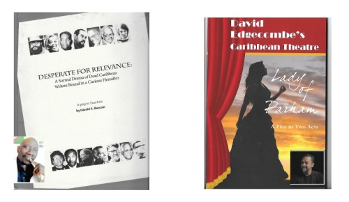 The Edgecombe play (image to the right) is based on an Antiguan legend and set in Antigua; it is published by CaribbeanReads.