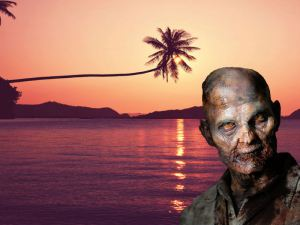 Zombie in Paradise
