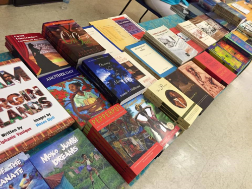 Antiguan books wadadli pen antigua barbuda related books at the book fair included alscess lewis browns moko jumbie series of childrens books jamaica kincaids mr potter fandeluxe Image collections
