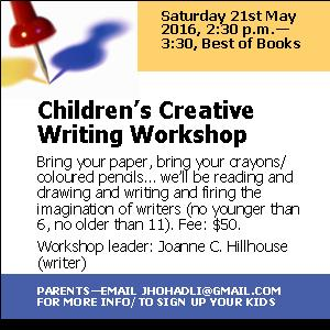 Childrens workshop flyer