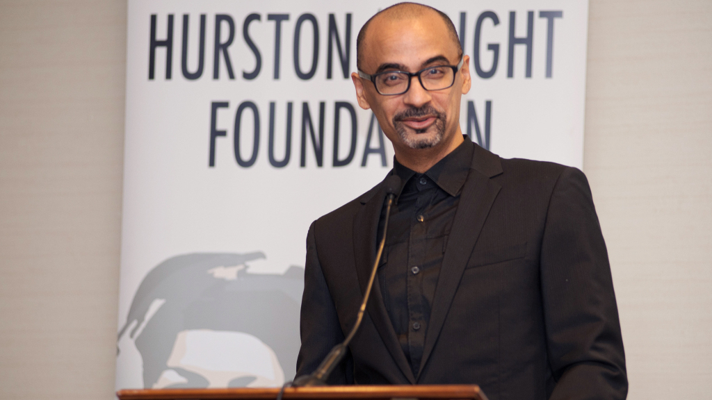 Dominican-American author Junot Diaz at the 2016 Hurston Wright Legacy Awards (Hurston Wright image)