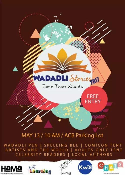 Wadadli Stories flyer