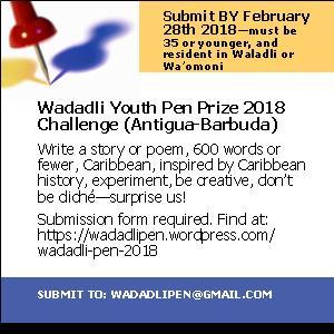 Wadadli Pen 2018 Flyer
