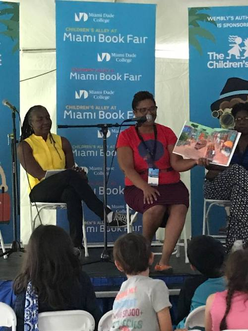 my panel at the Miami Book Fair